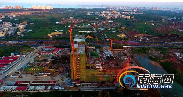 海南省儿童医院大楼封顶预计明年底投入使用