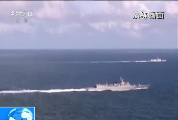 中国海军在南海攻防演练 重点打击敌水面舰艇