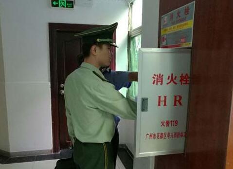 昌江消防大队集中排查火灾隐患助推冬春防火工作