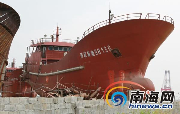 在建渔船因建造商涉官司面临扣押法院判决归渔民