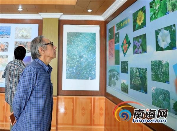 14位国内着名诗人三沙采风向永兴学校赠送文学作品