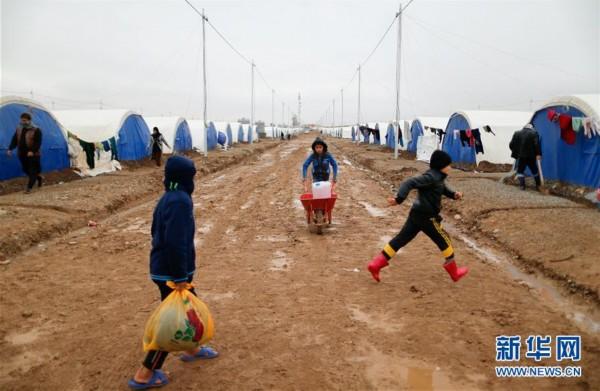伊拉克哈泽尔难民营(组图)