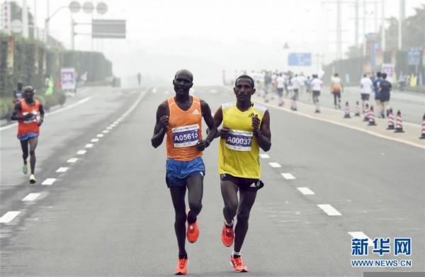 2019儋州国际马拉松赛况