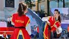 越南女警官成网红 曾是跆拳道冠军