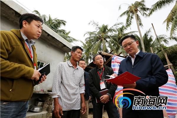 麦正华:加快推进贫困村项目建设以崭新面貌迎新年