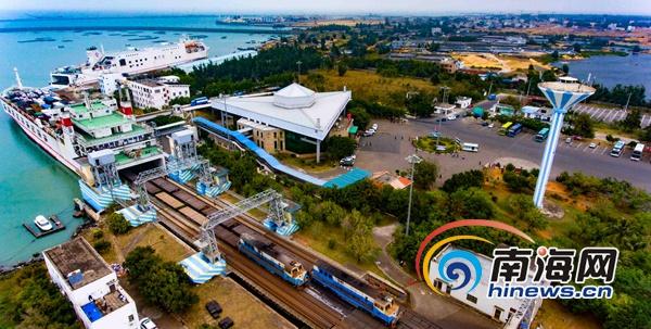 组图|2019年粤海铁轮渡春运开始公安和交警加强安保
