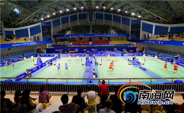 2019陵水国际羽毛球挑战赛开拍130余名运动员参赛