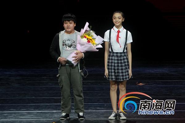 """""""感动海南""""2016十大年度人物奖.南海网记者陈望 摄-14岁男孩王图片"""