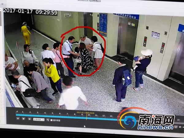 <b>三亚一男子失血性休克晕倒电梯口医生护士合力抢救</b>