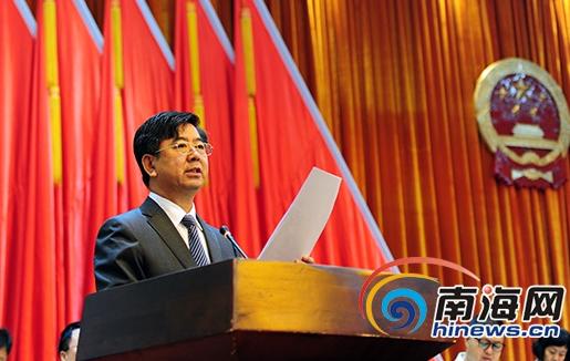 三亚市七届人大二次会议开幕 吴岩峻作政府报告