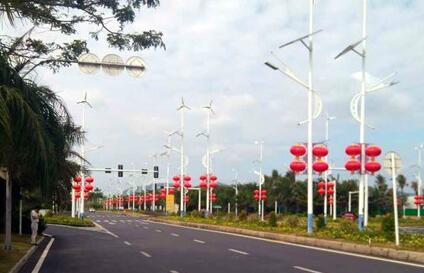 三亚全市将悬挂9672盏灯笼 营造浓浓春节气氛