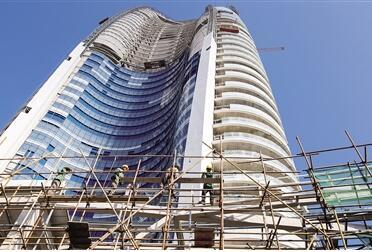 三亚海棠湾亚特兰蒂斯项目施工忙 进入装修阶段
