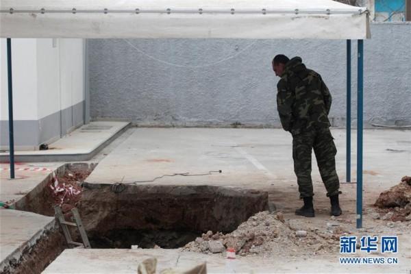 (外代一线)(1)希腊塞萨洛尼基发现二战哑弹