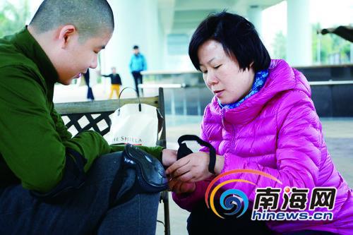 海口单身空姐和她的自闭症儿子:曾给人道歉50余次