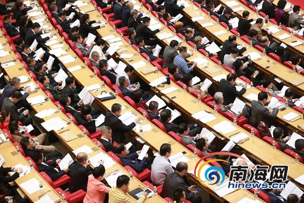 政协海南省第六届五次会议在海口隆重开幕[组