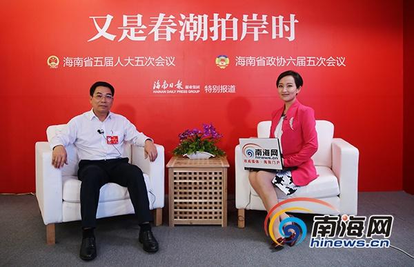 """【E访谈】东方市长:今年全面实施""""双修""""抓好万亩红树林修复"""