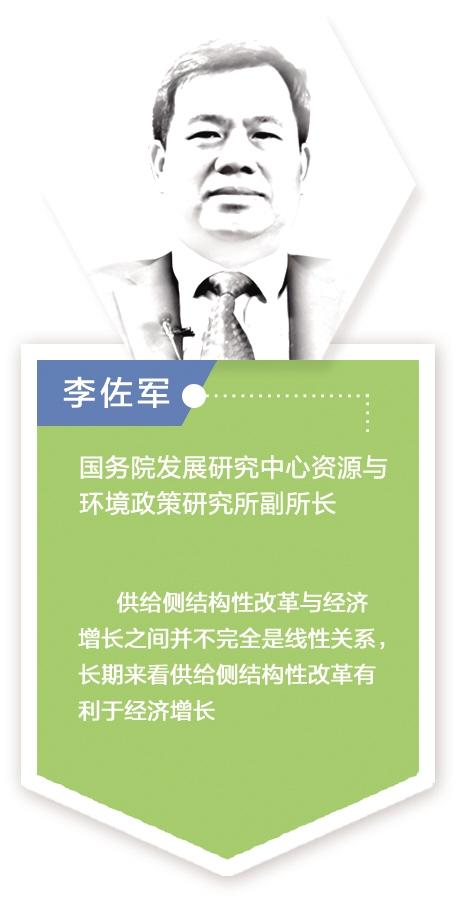 """李佐军:""""三去一降一补""""从不同层面对经济增长产生正面推动作用"""
