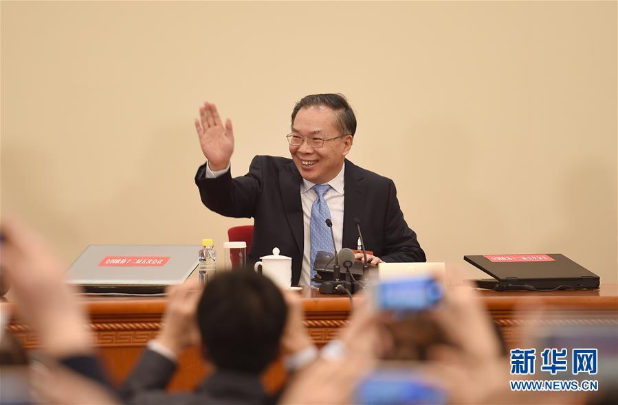 (两会)(3)全国政协十二届五次会议举行新闻发布会
