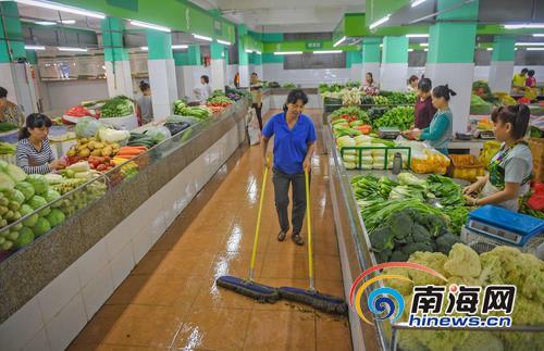 三亚升级改造33家农贸市场财政投入8700多万元