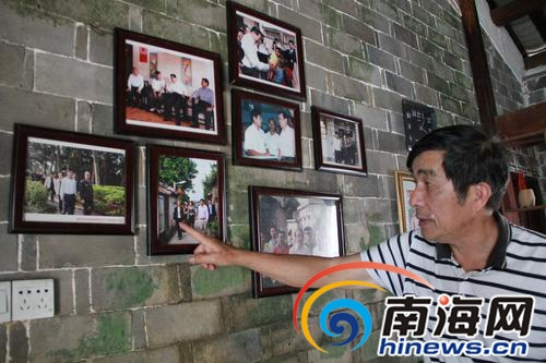 67岁老人将百年老宅打造成农家乐 给博鳌旅游添彩