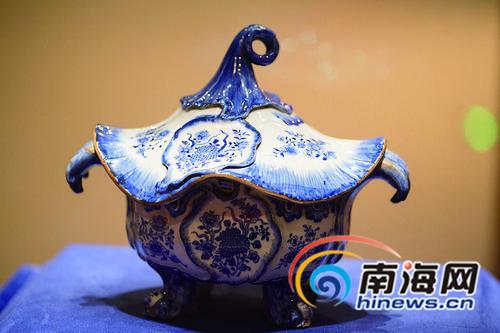150件明清珍品在海南展出 与紫禁城共话丝路[图]