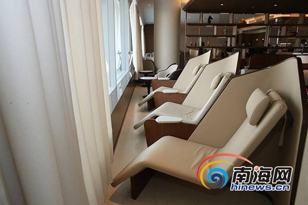 海南航空国际贵宾室海翼堂在首都机场揭幕