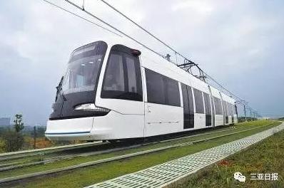 """<b>三亚有轨电车将打造成""""流动的景点"""",你期待吗</b>"""