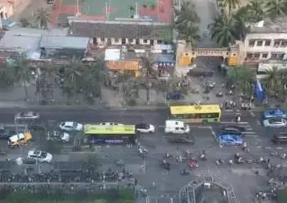 惨烈!11日海口龙华路两车追尾撞飞一过路妇女当场死亡