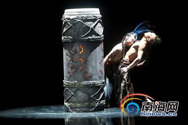 大型民族舞剧《甘工鸟》海口首演黎族传说搬上舞台