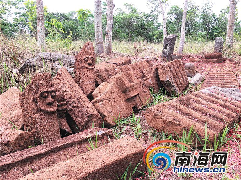 海口儒图村发现明末石牌坊墓主身份待解