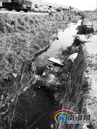 网曝洗沙场污水直排海口仙月仙河涉事洗沙场被关停