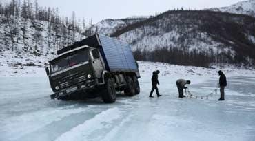 送12吨食物去北极