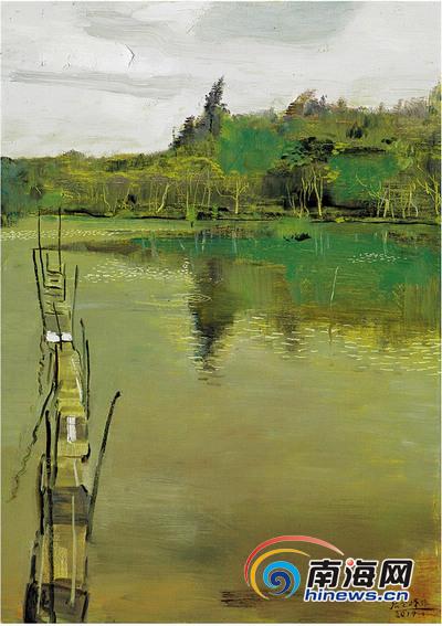 <b>油画中的海南山水精神</b>