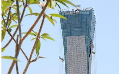 丝路之塔6月底完工 将建成南海文明交流平台