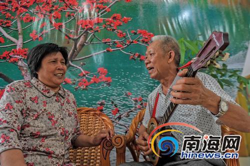 海南村话民歌唱历史故事入选海南第五批非遗项目