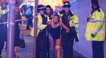 英国曼城体育场发生爆炸