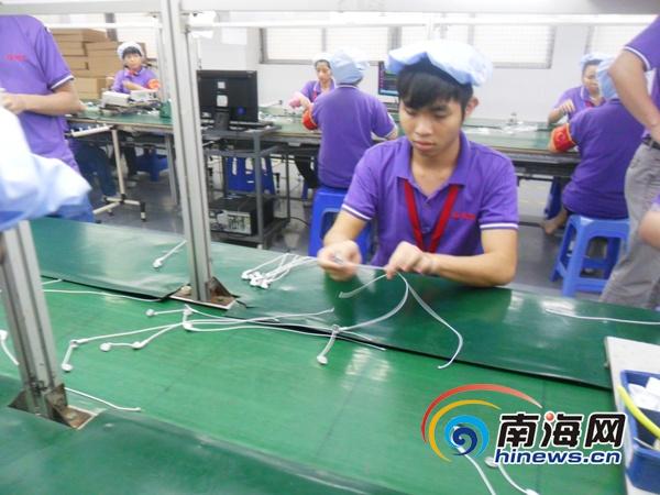 海南组织数千青年赴广东就业一人务工全家脱贫