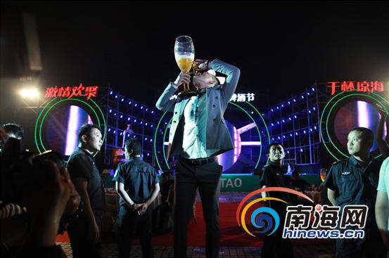"""琼海青岛啤酒节重磅开幕开启""""醉""""激情之夏"""