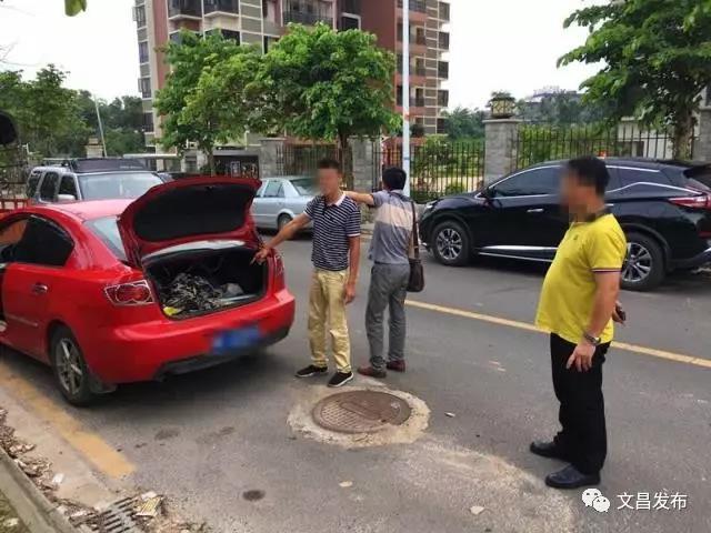 文昌市公安局破获文教镇打砸工程车系列案件