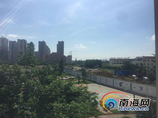 """海南(海口)特殊教育学校""""爱心路""""实现功能性通车"""