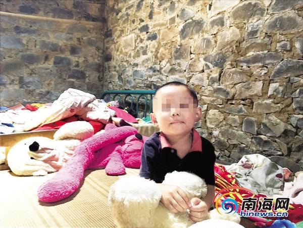 母亲离家出走父亲又患病 定安4岁小娃娃渴望上幼儿园