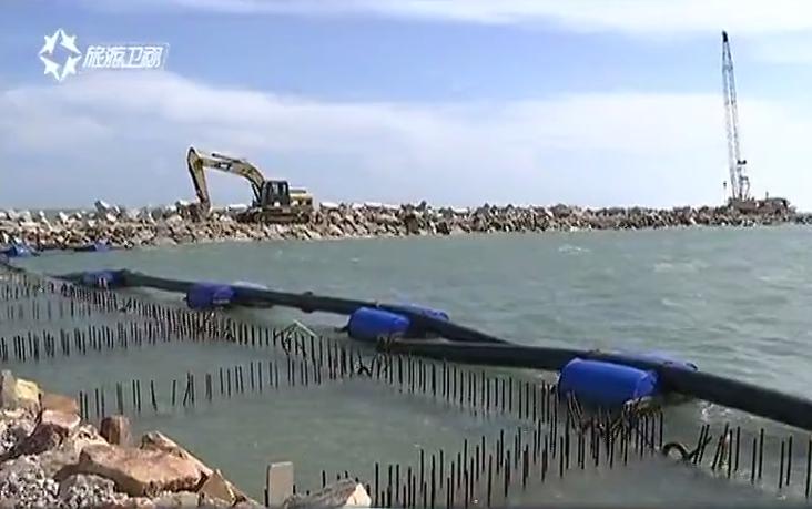 海南莺歌海渔港码头预计7月底建成将结束300余年无渔港历史