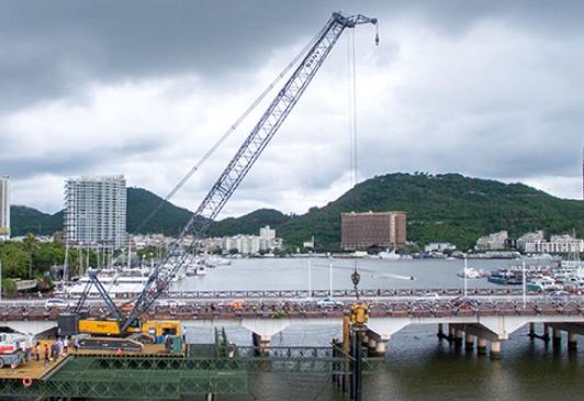 三亚投16.8亿元用于路桥建设 拆除重建三亚大桥