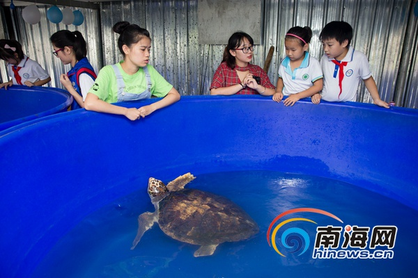 海师生态园举行世界海洋日开放活动