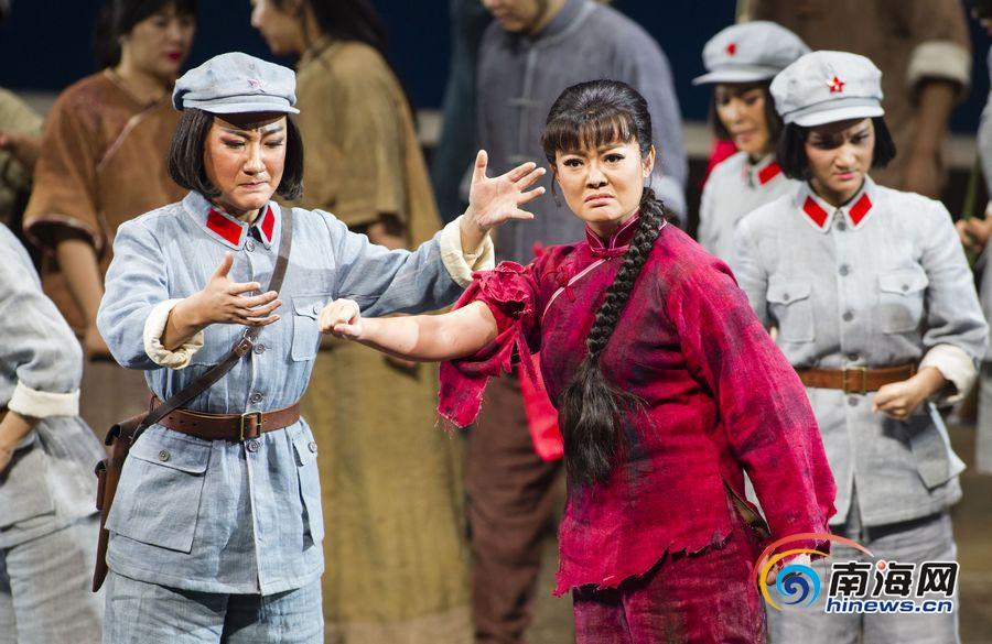 高清|《红色娘子军》今明国家大剧院上演 两场4800余座位售罄