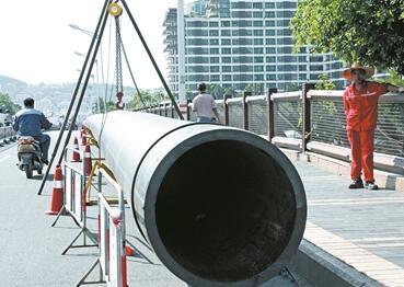 三亚大桥污水提升泵站扩容改造 解决三亚河污染