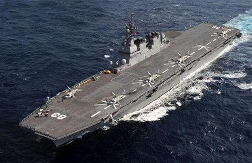日准航母搭东盟军官南海航行 搅局行为白费力气