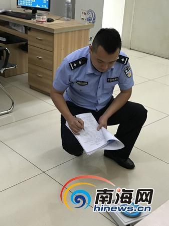 海口秀英公安分局民警吴多坚:一晚连破3起吸贩毒案件
