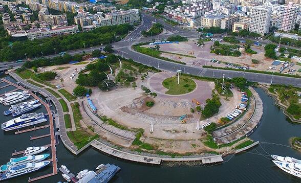 三亚鹿回头广场年底将变身大型综合性景观公园