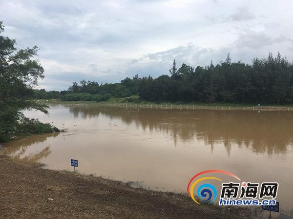 位于文澜江多莲村河段的取水口 南海网见习记者 庄晓珊 摄